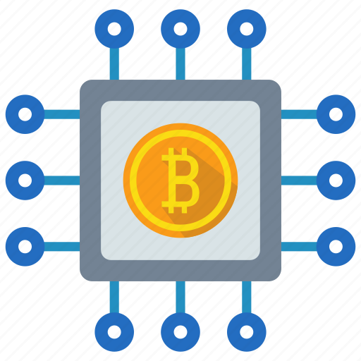 bitcoin, blockchain, coin, crypto, cryptocurrency, currency, digital money icon