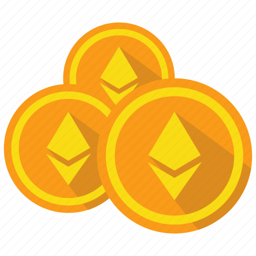 coin, cryptocurrency, currency, digital, ethereum, money icon