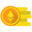 coin, crypto, cryptocurrency, currency, digital money, ethereum