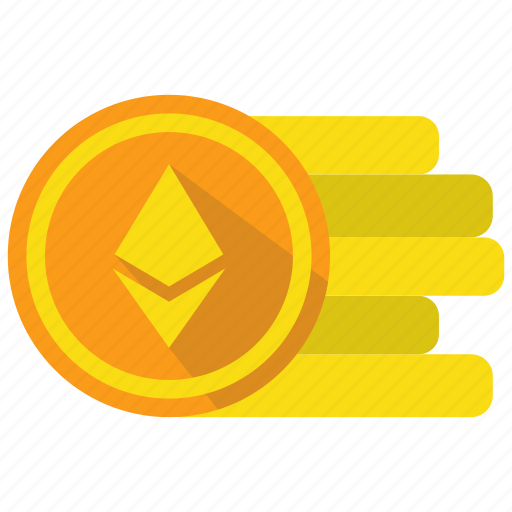 coin, crypto, cryptocurrency, currency, digital money, ethereum icon