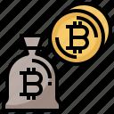 bitcoin, bitcoins, business, coins, dollar, exchange, money