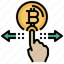 bitcoin, business, computing, cryptocurrency, currency, finance, money icon