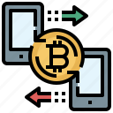 bitcoin, business, currency, exchange, finance, share, transfer