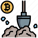 bitcoin, business, currency, finance, method, mining, payment icon
