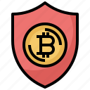 bitcoin, business, currency, finance, money, security, shield