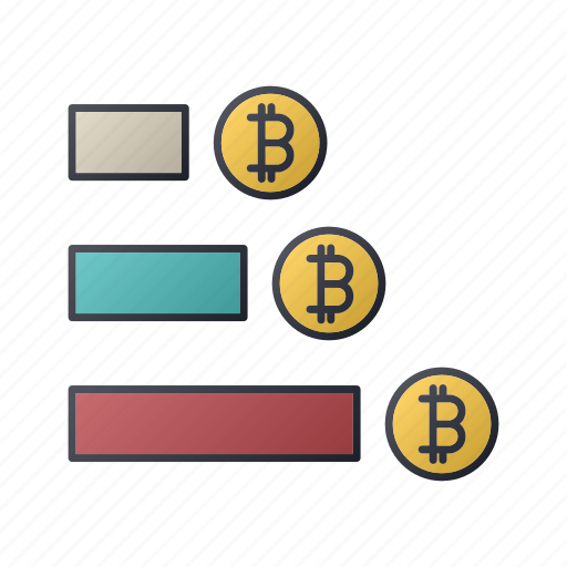 bitcoin, business, diagram, money, report, seo, statistics icon
