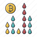 bitcoin, business, chart, finance, oil, seo, statistics icon