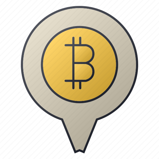 bank, bitcoin, chart, location, pin, seo, statistics icon