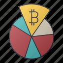 bitcoin, business, chart, money, report, seo, statistics icon