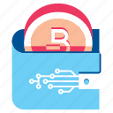 bitcoin, coin, finance, money, payment, wallet icon