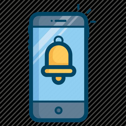 alarm, device, finance, reminder, ring, transaction icon