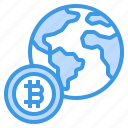 global, world, business, bitcoin, cryptocurrency