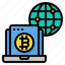 bitcoin, cryptocurrency, digital, currency, global