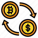 currency, exchange, bitcoin, cryptocurrency, dollar