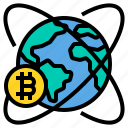global, bitcoin, cryptocurrency, world, business