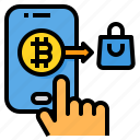 payment, bitcoin, cryptocurrency, digital, currency, shopping