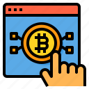 website, bitcoin, cryptocurrency, blockchain, currency