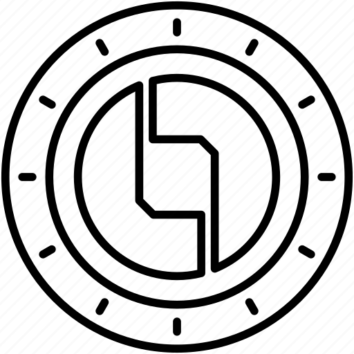 Alternative currency, cryptocoin, cryptocurrency, digital currency, status cryptocurrency icon - Download on Iconfinder