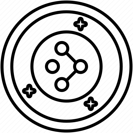 Amp crypto, cryptocurrency, digital currency, global coin market, synereo coin icon - Download on Iconfinder