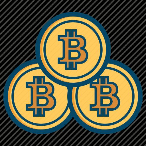 bitcoin, bitcoins, coin, coins icon