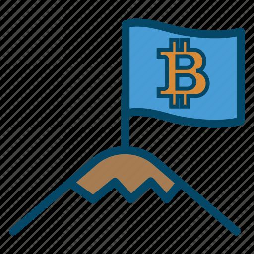 bitcoin, bitcoins, first icon