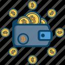 bitcoin, btc, coin, wallet