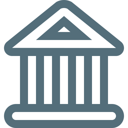 bank, banking, business, finance, financial, money, museum icon