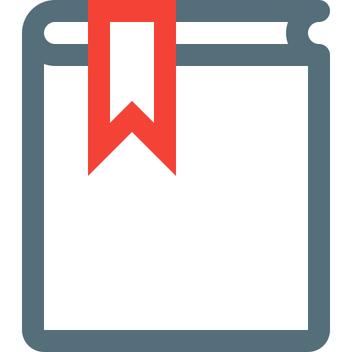 book, bookmark, learning, library, reading, school, study icon