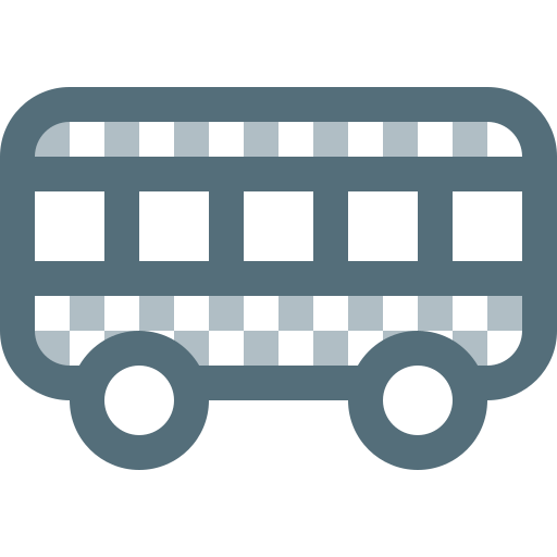 Bus, sightseeing, tourism, transfer, transport, travel, vehicle icon - Free download