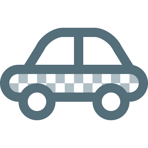 automobile, car, taxi, transfer, transport, travel, vehicle icon