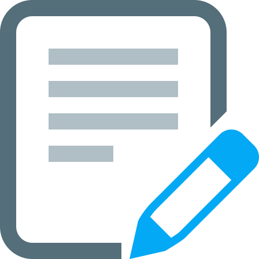 Document Edit File Page Paper Sheet Text Icon Icon