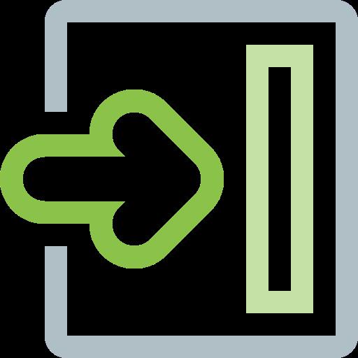 arrow, enter, forward, login, move, next, right icon