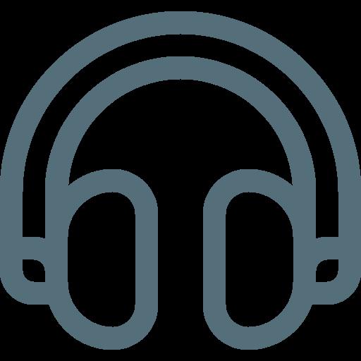 earphone, earphones, headphone, headphones, headset, listen icon