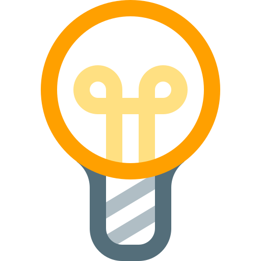 bulb, electricity, idea, lamp, light, lightbulb, lighting icon