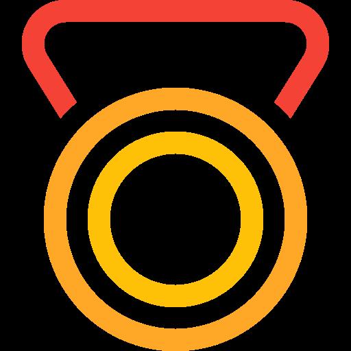 award, badge, gold, medal, prize, reward, trophy icon