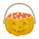 dark, halloween, magic, pumpkin, white icon