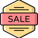 sale, badge, discount, label