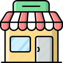 shopping, store, market