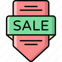 sale, badge, discount, offer