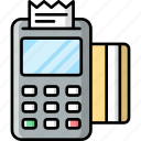 credit, card, machine, payment