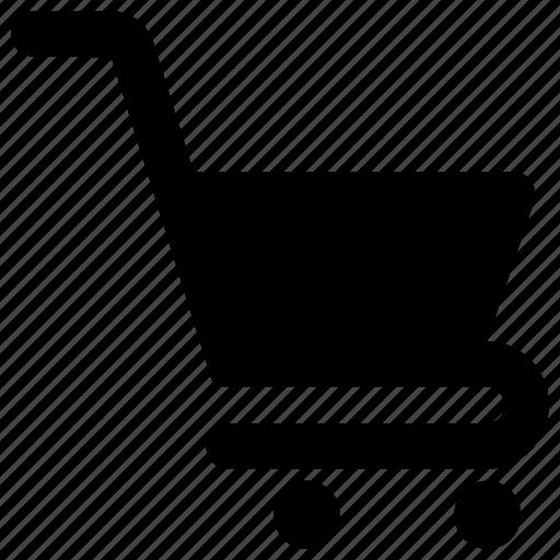 basket, bucket, carriage, shopping basket, shopping cart icon