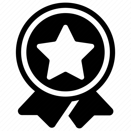 achievement, award, badge, medal, success logo icon