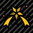 black, friday, star icon