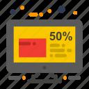 discount, friday, percentage icon