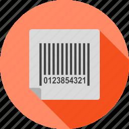 bar, barcode, box, code, label, scanner, shipping icon