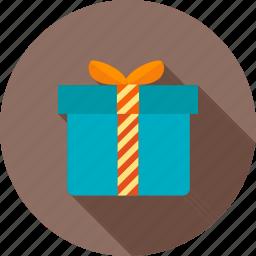 box, christmas, decoration, design, festive, gift, holiday icon