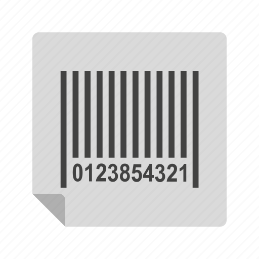 bar, barcode, box, code, label, scanner, shipping icon