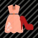 bags, beautiful, fashion, lady, shoes, shopping, woman icon