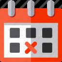 blackfriday, calendar, date, day icon