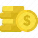blackfriday, cash, coins, money icon